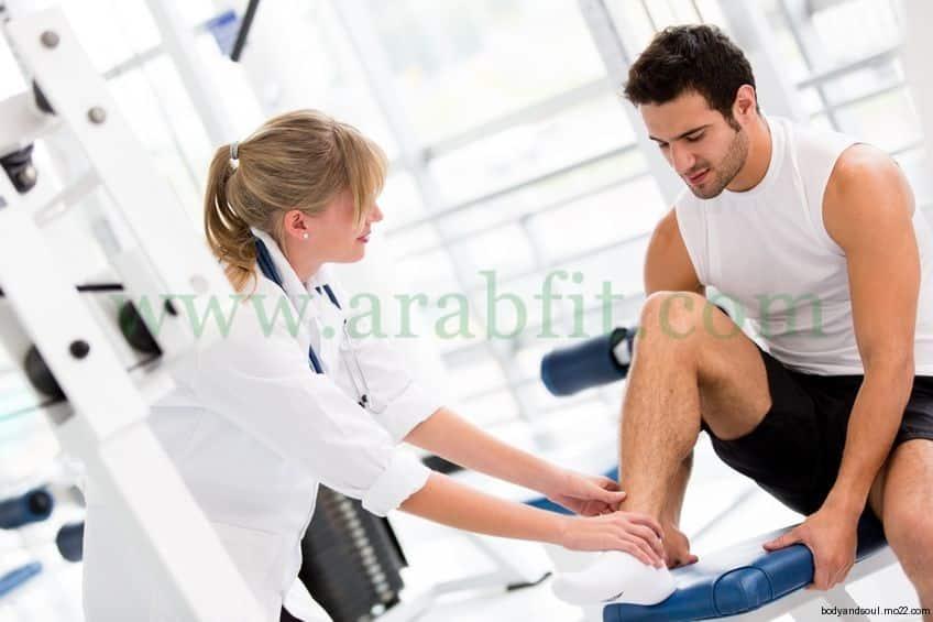 الالام العضلية بعد التمارين الرياضية والتغلب عليها